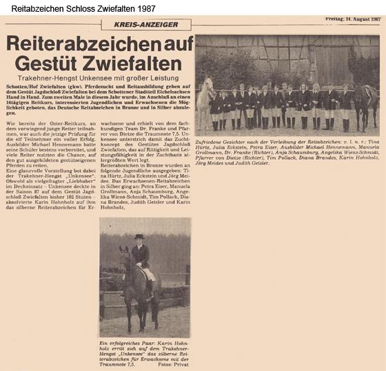 ReitabzeichenZwiefalten1987