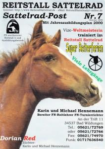 Sattelradpost 2000