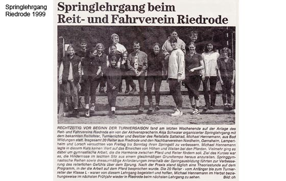 Springlehrgang Riedrod 1999