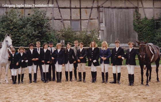 Lehrgang Jagdschloss Zweifalten 1988